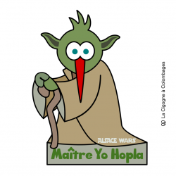 magnet Maître Yo Hopla - ALSACE WARS