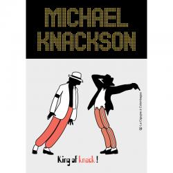 carte postale Michael Knackson