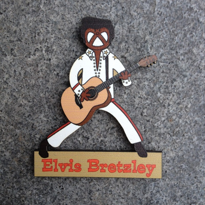 magnet Elvis Bretzley