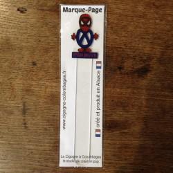 marque-page Spider-Bretzel