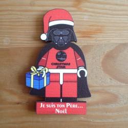 Magnet Je suis ton Pere Noel - Dark Kouglof - La Cigogne a Colombages