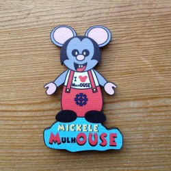 magnet Mickele MulhOUSE - made in Alsace