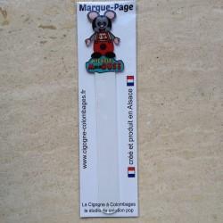 marque-page en plexiglas Mickele MulhOUSE - fabriqué en France