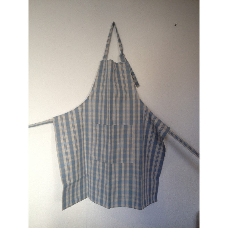 Tablier en Kelsch, le tissu traditionnel d'Alsace