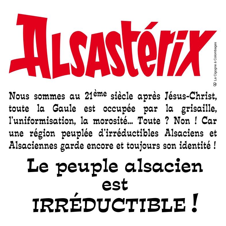 Alsastérix - le peuple alsacien est irréductible !