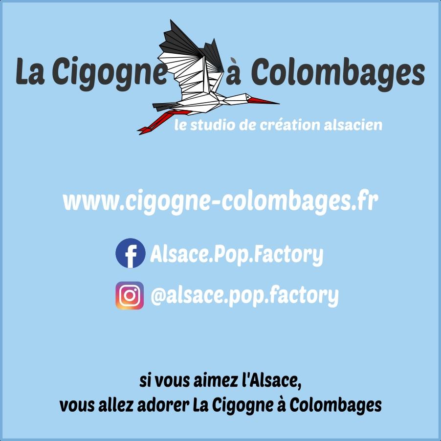 La Cigogne à Colombages - studio de création 100% Alsace !