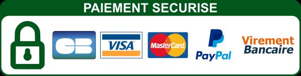 Les paiements sont intégralement sécurisés